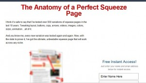 Ryan Deiss Free Squeeze Page Template Learn From Internet Marketers - Free squeeze page templates