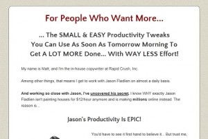 Jason Fladlien - Absolute Productivity