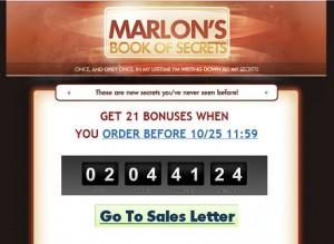Marlon Sanders - Book of Secrets