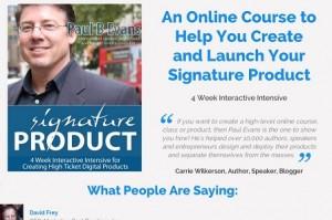 Paul Evans - Signature Product