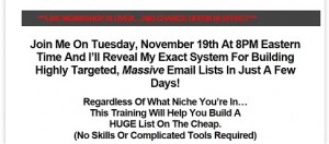 Tanner Larsson - Private ListBuilding Workshop