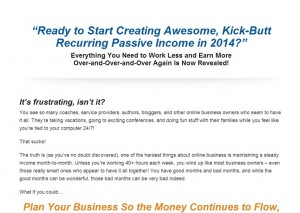 Coach Glue Sticky Passive Income
