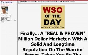 Eric Louviere - WSO Blowout 2014