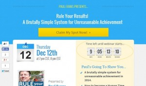 Paul Evans - Rule Your Results