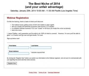 Best Niche of 2014