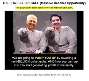 Fitness Firesale
