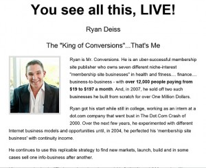 Ryan Deiss - Traffic and Conversion Summit 2014 Livestream