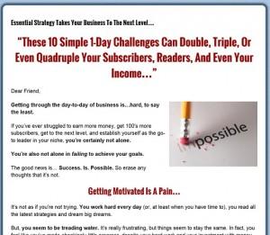 Dennis Becker - 10 Challenges