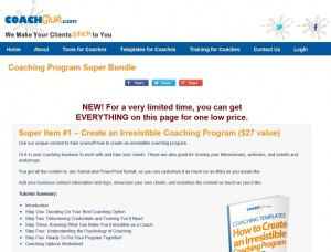 Coach Glue Coaching Program Super Bundle