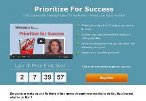 Sharyn Sheldon - Prioritize For Success