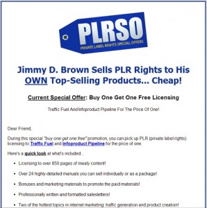 Jimmy D Brown - Traffic Fuel and InfoProduct Pipeline