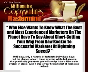 Millionaire Copywriting Mastermind