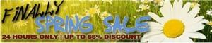NAMS Finally Spring Sale