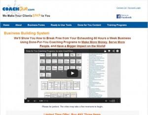 Coach Glue - Business Building System