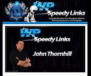 John Thornhil - WP Speedy Links