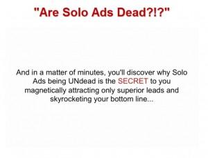 David Eisner - Are Solo Ads Dead