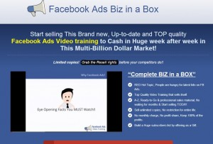 Facebook Ads Biz in a Box