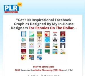 100 Inspirational Graphics PLR