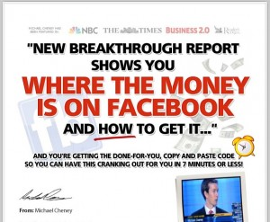 Michael Cheney - Fan Page Money Method