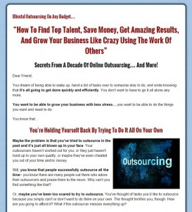 Outsourcing for IMers