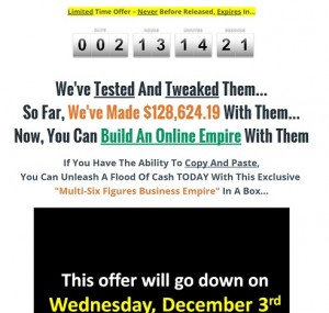 Multi Six Figure Business