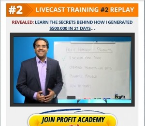 Anik Singal - 2nd Live Training Replay