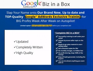 Google Business in a Box