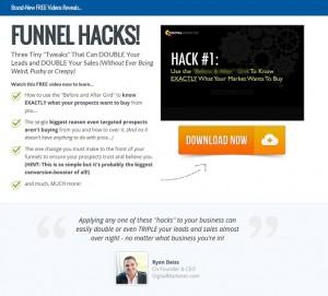 Ryan Deiss - 3 Funnel Hacks