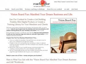 Vision Board Fun