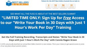Best Sellers Summit 2017 Free Training