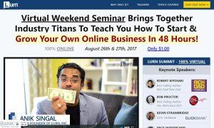 Anik Singal - Lurn Virtual Summit