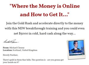 Join The Gold Rush (It Sounds Silly – But He'll Teach You a
